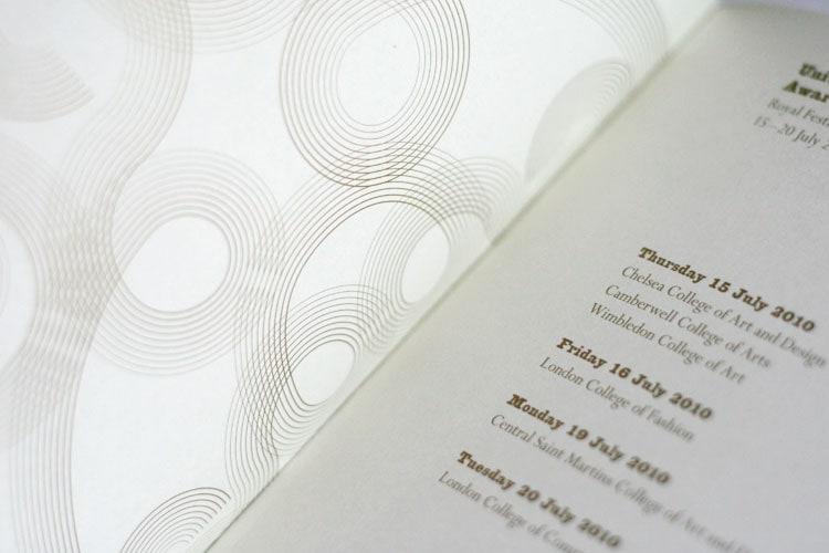 UAL Award Ceremony Programme