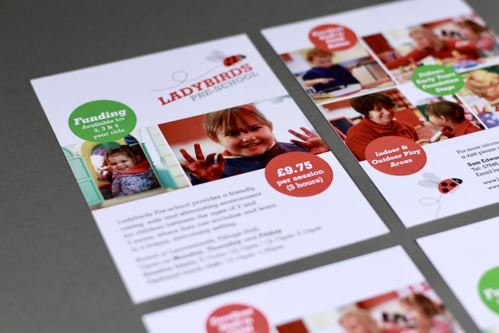 Ladybirds Preschool Marketing