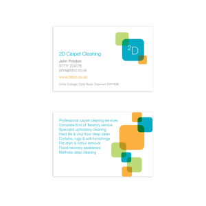 2DCC Brand Identity and Business Card