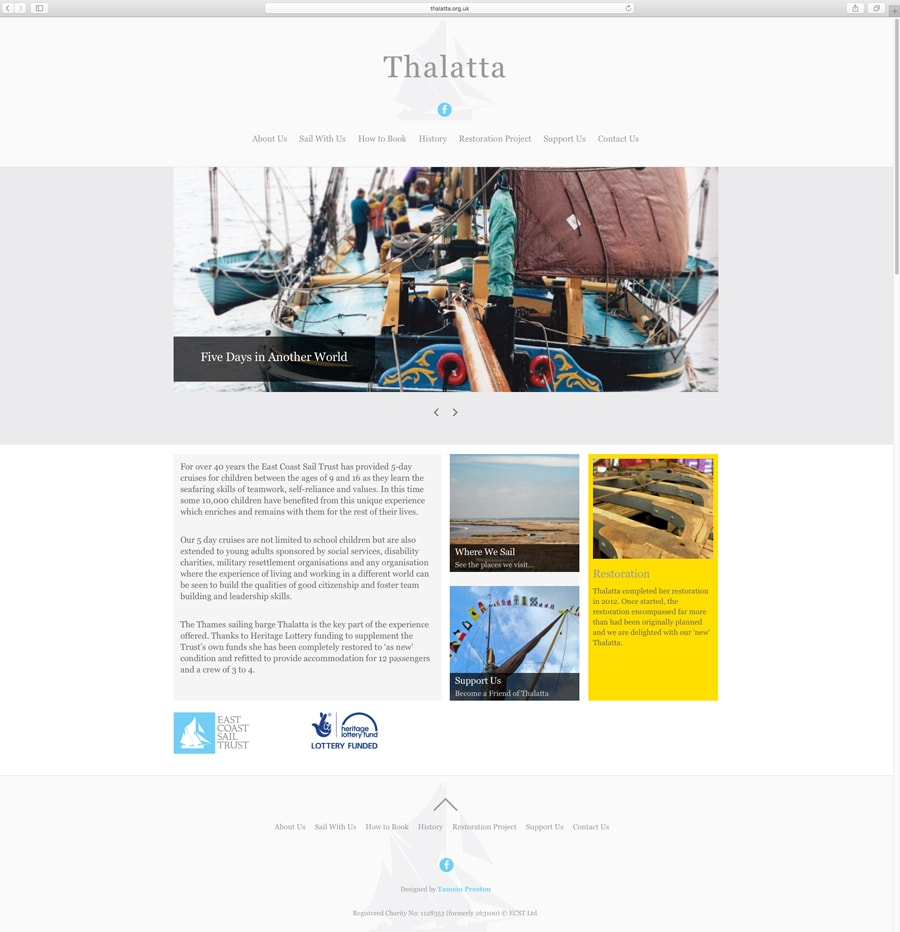 ECST Thalatta Website