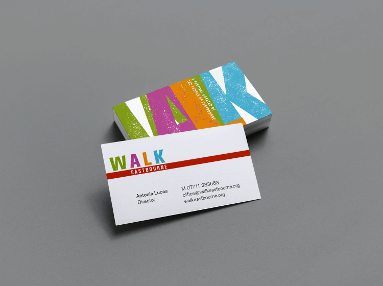 Walk Eastbourne Business Card