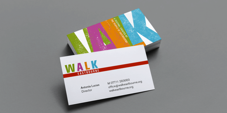 Walk Eastbourne Business Card