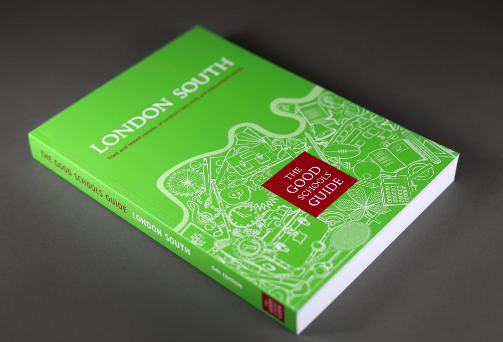 Good Schools Guide Book Cover Design