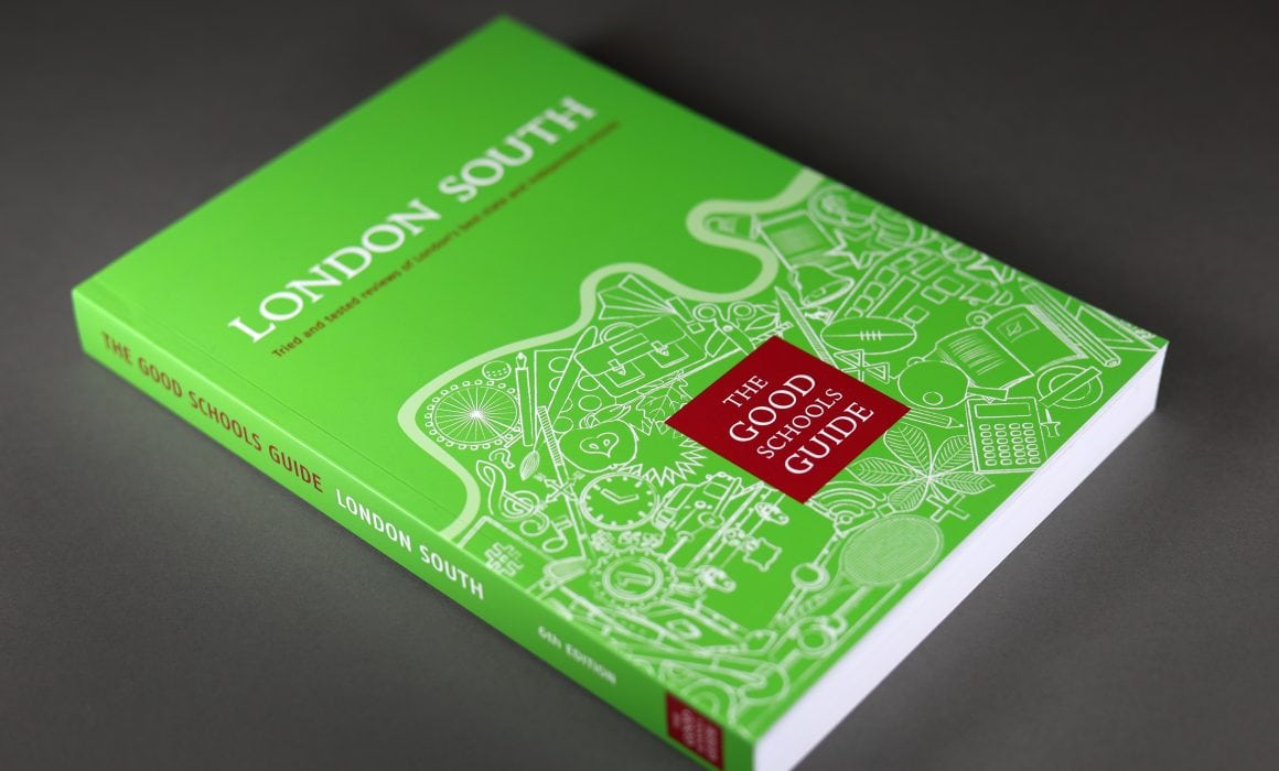 Good Schools Guide Book Cover Design
