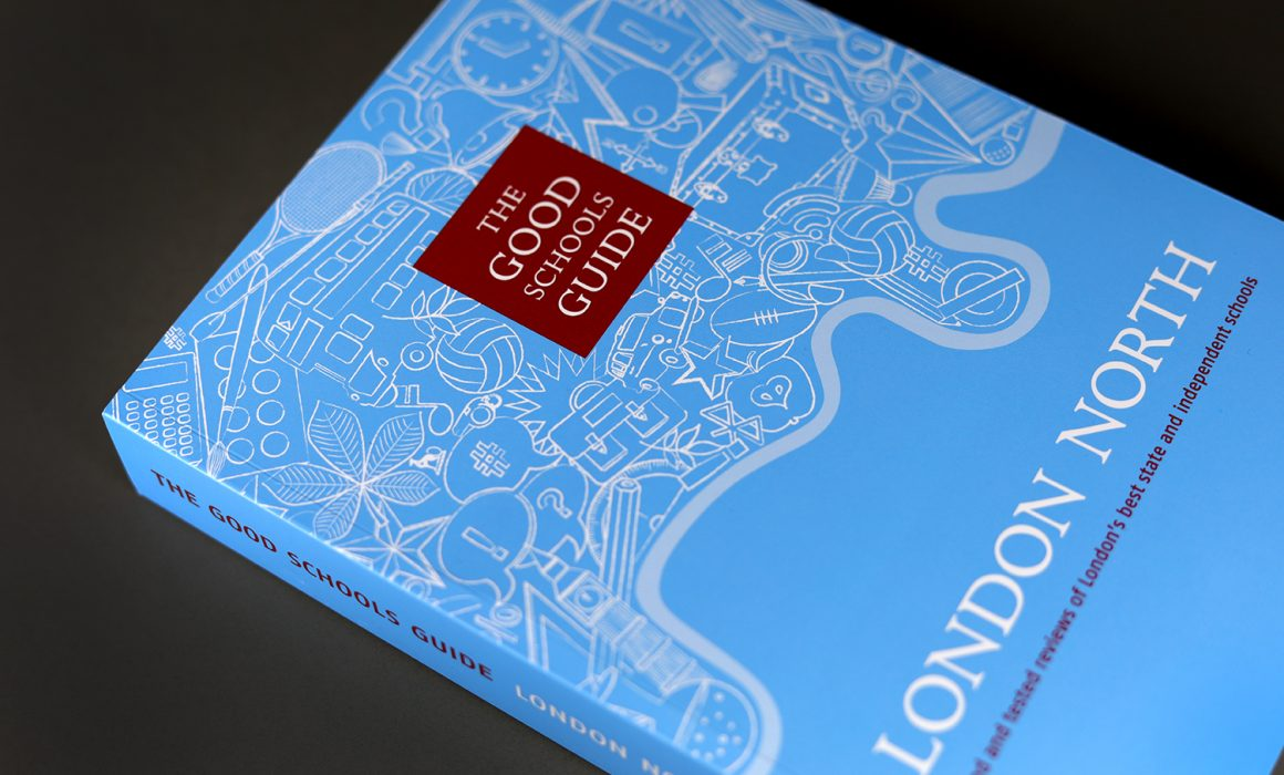 Cover Design of the London North Good Schools Guide